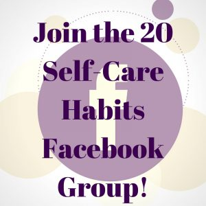 Self Care Facebook Group